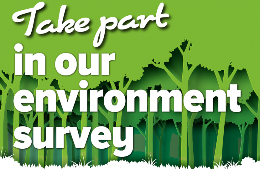 Take part in our Environment Survey